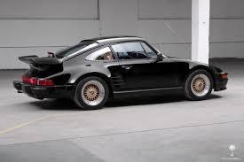 1987 porsche 911 slant nose porsche 911 coupe 1987 black for sale wp0jb0937hs050468 1987