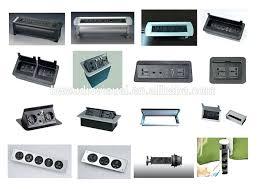 Office Desk Power Sockets Desk Desk Power Outlet Desk Outlets Power And Data Six Usb Power