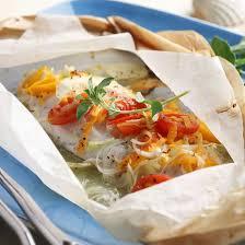 poisson cuisiné recette papillote de poisson à la provencale facile rapide