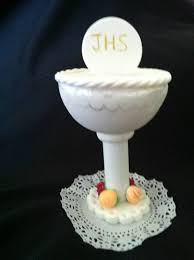 first communion chalice cake topper communion topper chalice