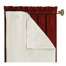 Blackout Window Treatments Eclipse Thermaliner White Blackout Energy Saving Curtain Liners