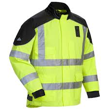 hi vis cycling jacket waterproof tour master sentinel le rain jacket hi viz jafrum