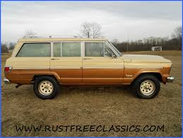 1979 jeep wagoneer 128k 79 suv gold tan