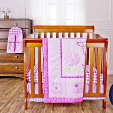 Girls Crib Bedding Amazon Com Dream On Me Pink Butterfly And Flower 5 Piece Set