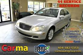 mercedes used s class 2003 mercedes s class 5 0l stock 14217 for sale near duluth