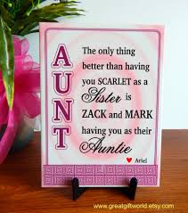 mother u0027s day gift to my children u0027s auntmy sister and