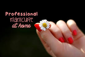 give yourself a perfect professional manicure at home