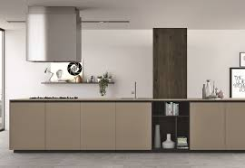 Luxor Kitchen Cabinets Kitchen Top And Doors Made Of Fenix Ntm Beige Luxor Courtesy Of