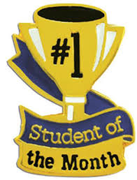 of the month best student of the month sept 2011