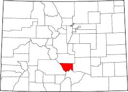 Political Map Of Colorado by Custer County Colorado Wikipedia