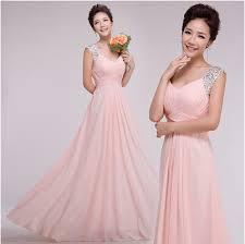 Womens Light Pink Dress Robe Princesse Women Long Formal Fashion Light Pink
