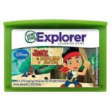 leapfrog learning game disney jake land pirates