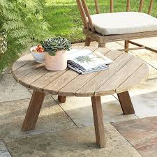 outdoor wood coffee table timeless dexter outdoor coffee table