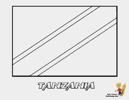 Flag Of Tanzania Tanzania Flag Coloring Page Elegant Splendid Coloring Flag Taiwan