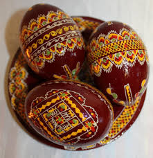 ukrainian easter eggs for sale handmade pysanky wooden eggs 3 wooden ukrainian handpainted
