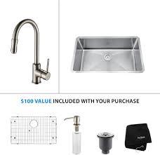 kitchen sink faucet combinations