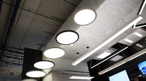 circular or linear led lights