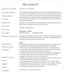 Hair Stylist Resume Template Hairdressing Cv Template Sample Free Samples Examples U0026 Format
