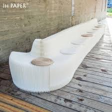 sofa for office aliexpress com buy creative green kraft paper folding organ sofa