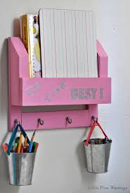 Desk Organizer Diy Diy Desk Organiser And Homework Station Anika S Diy