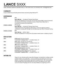 Sample Resume For Gym Instructor by Esthetician Resume Example Salon Spa Fitness Sample Resumes My