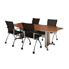 D Shaped Conference Table Mayline Product Detail Discontinued Transaction Boat Shaped