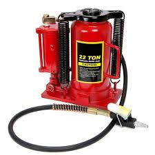 air hydraulic bottle jack 22 ton manual 44 000lb heavy duty auto