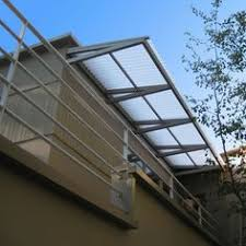 Lexan Awnings Polycarbonate Awnings That Protect From Rain But Let Light In