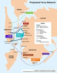 San Francisco Ferry Map by Brewer Mayor U0027s New Ferry Plan Could Sink Seaport Museum