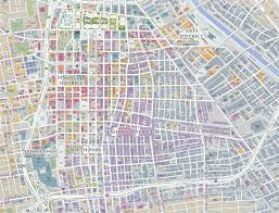 los angeles map pdf about downtown la downtown la now