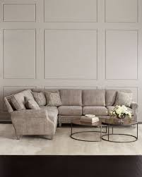 Left Sided Sectional Sofa Boxed Sectional Sofa Horchow