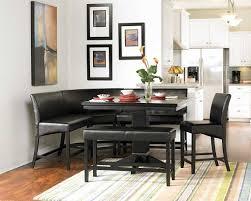 kitchen nook furniture set enchanting black dining nook set dining table ideas
