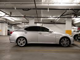 lexus 2010 is350 stock ride height for is350 sport package or standard height