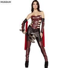 Mythical Goddess Girls Costume Girls Costume Aliexpress Com Buy Hugguh Women Clothes Warrior Costume