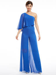evening jumpsuits one shoulder beading evening jumpsuits jumpsuits