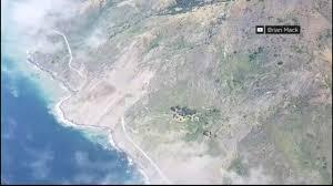 Big Sur Map Another Massive Landslide Cuts Off Highway 1 Access To Big Sur