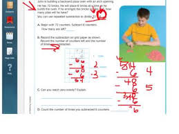 go math 4 7 divide using repeated subtraction youtube