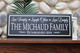 home established sign wood sign personalized wall sign parents