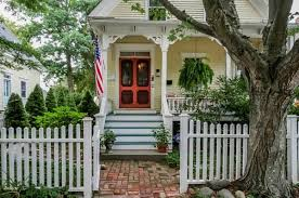 Cottage Style Homes For Sale by A Charming Yellow Cottage For Sale Near Bristol Harbor