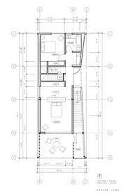 Shotgun Floor Plans Floor Plan For Two Bedroom Terraced House By Proctor And Matthews