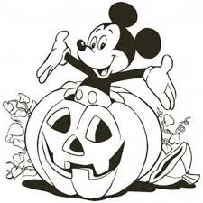 Halloween Pumpkin Coloring Page Mickey Mouse Clubhouse Coloring Pages Printable Coloring Home