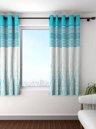 Blue Window Curtains by Curtains U0026 Sheers Buy Long Curtain U0026 Sheer Online Myntra