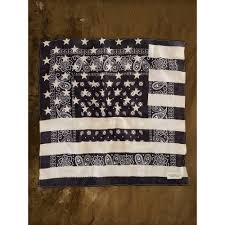American Flag Rugs Lyst Denim U0026 Supply Ralph Lauren American Flag Bandana In Black