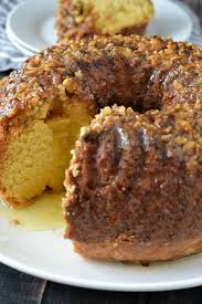 rum cake with butter rum glaze mother thyme