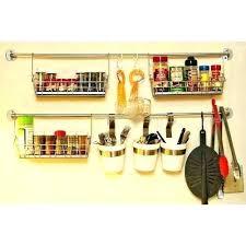 barre ustensiles cuisine inox barre ustensile cuisine barre murale support en inox de rangement