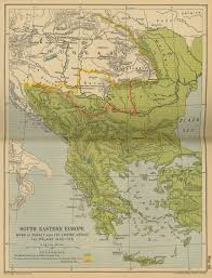 Map Of South Of South Eastern Europe 1648 1739