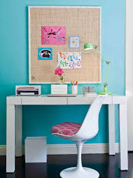 blue walls teenager study room good interior paint color for a