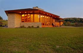 frank lloyd wright inspired house plans exterior midcentury with