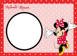 Free Printable Minnie Mouse Invitation Template by Minnie Mouse Free Template Invitations