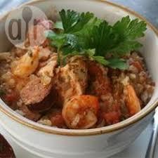 cajun küche jambalaya im cooker jambalaya ist eine spezialität aus der